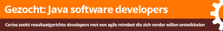 Java software developers gezocht